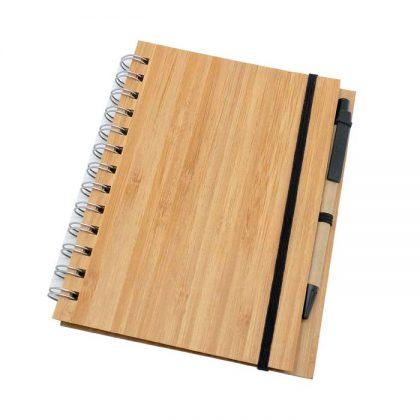 Libreta ecológica de Bambú