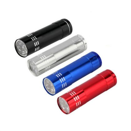 linterna metálica colores
