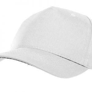 Gorra de gabardina blanca