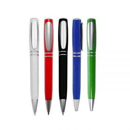 Bolígrafo plástico colores