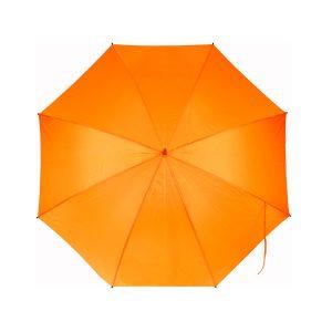 Paraguas naranja color