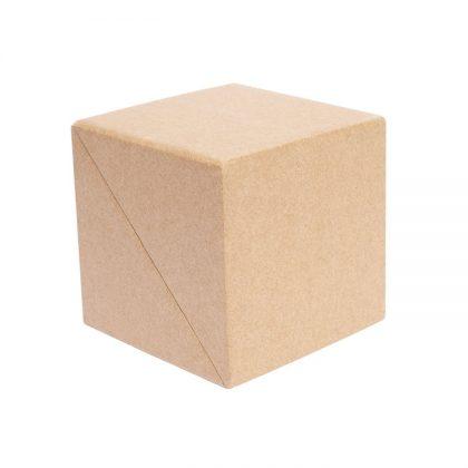 Set de escritorio cubo ecológico cerrado