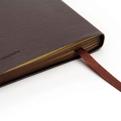Cuaderno de cuero Pampero detalle
