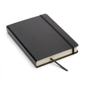 Cuaderno de cuero tapa dura