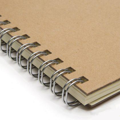 Espiral de cuaderno ecológico