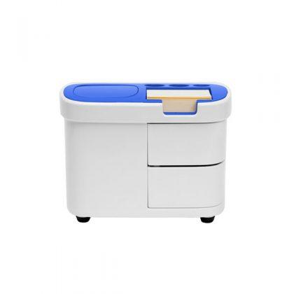 Organizador de escritorio azul
