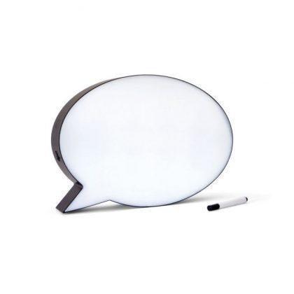 tablero para mensajes bubble