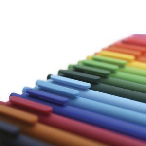 Lapiceras de colores
