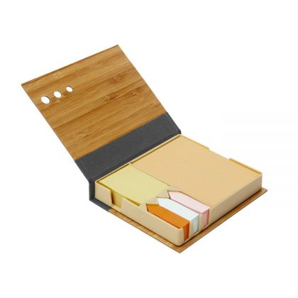 Set de notas bambu abierto