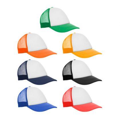Gorras trucker de colores merchandising en Argnetina