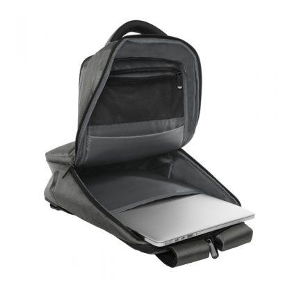 Interior de mochila portanotebook