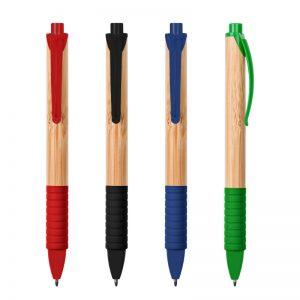 boligrafo bambu colores varios